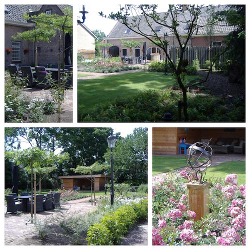 klassieke senioren tuin