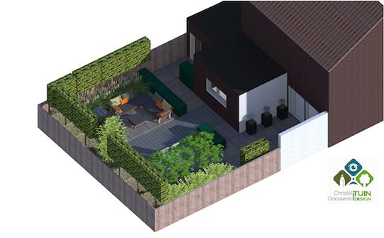 tuinontwerp 3D